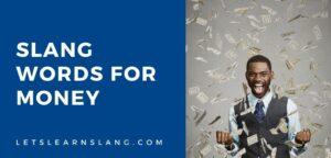slang words for money
