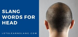 slang words for head