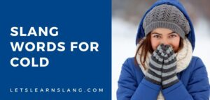 slang for cold