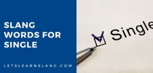 slang words for single